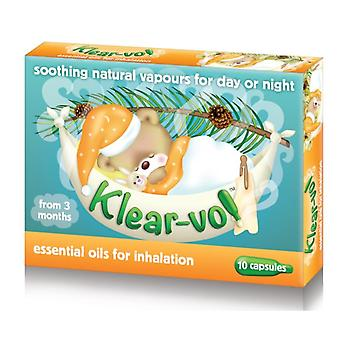 Klear-Vol Essential Oils for Inhalation 10 Capsules