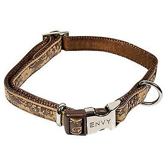 Nayeco Collar Envy Flora (Brown) Size 3 (Dogs , Collars, Leads and Harnesses , Collars)