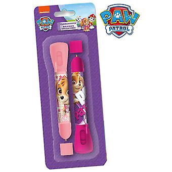 Import Paw Patrol Blister 2 Pens-Flashlight