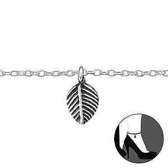 Leaf - 925 Sterling Silver Anklets - W33152x
