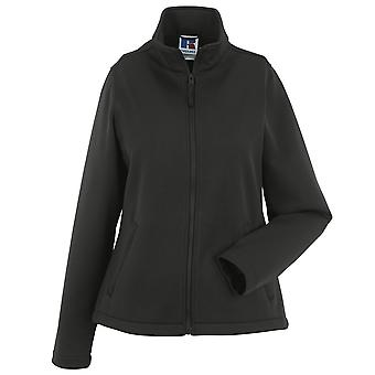 Russell Collection Ladies Smart Full Zip Softshell Breathable Microfleece Jacket