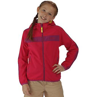 Regatta Boys & Girls Arowana II Hooded Stretch Softshell Jacket
