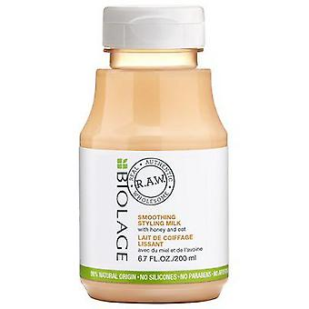 Biolage Raw Smoothing Styling Milk With Honey & Oat 200 ml (Hair care , Styling products)