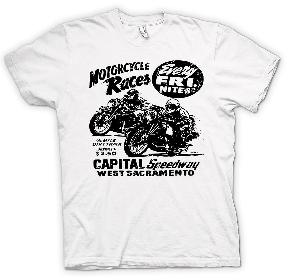 Womens T-shirt - Classic Bike Motorcycle Race