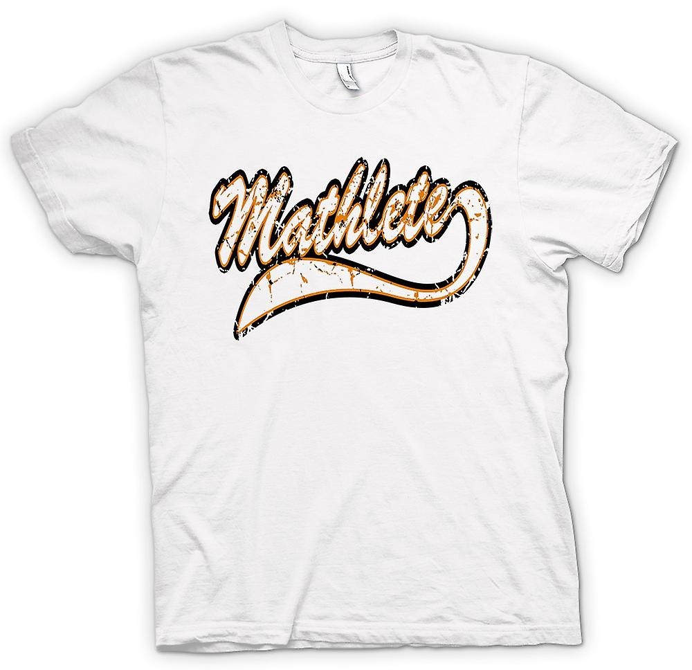 Womens T-shirt - Mathlete Maths - Lustiges