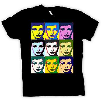 Womens T-shirt - Audrey Hepburn Legend - Pop Art