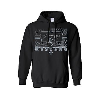 Unisex Pullover Hoodie Ford Mustang Honeycomb Grille