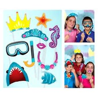 Under havet Photo Booth Kit