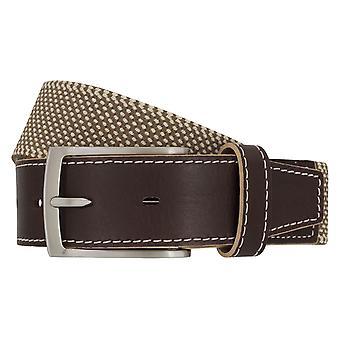 LLOYD Men's belt belts men's belts stretch belt beige 6902