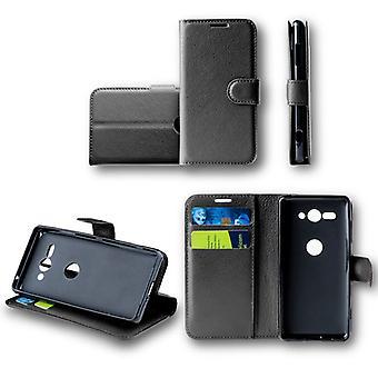 HTC 欲望 10 プレミアム プロ ポケット財布黒保護スリーブ ケース カバー ポーチ新しいアクセサリー