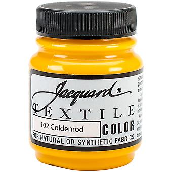 Jacquard Textile Color Fabric Paint 2.25oz-Goldenrod