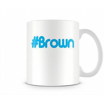 Hash Brown afgedrukt mok