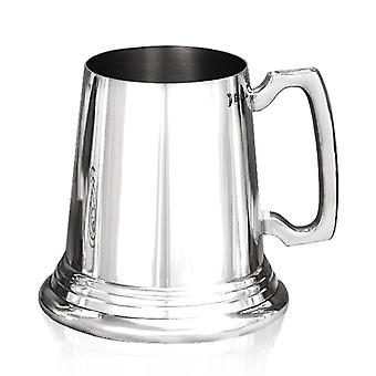 O tradicional calibre pesado do Pewter Tankard - 1 Pint +