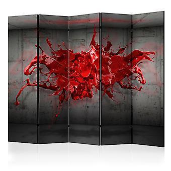 Rumsavdelare - rött bläck Blot II [rumsavdelare]