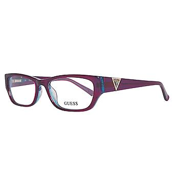 Guess glasses ladies purple