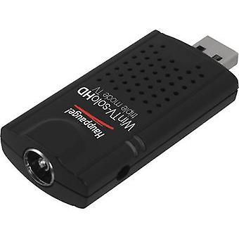 TV-Stick Hauppauge WinTV-Solo HD inkl. DVB-T Antenne, inkl. Fernbedienung, Aufzeichnungsfunktion Nr. Tuner: 1