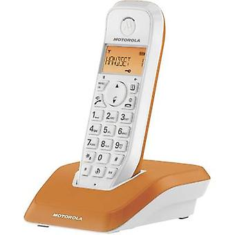 Motorola STARTAC S1201 Cordless analogue Orange, White