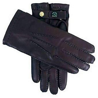 Dents Handsewn Cashmere Lined Leather Gloves - Brown