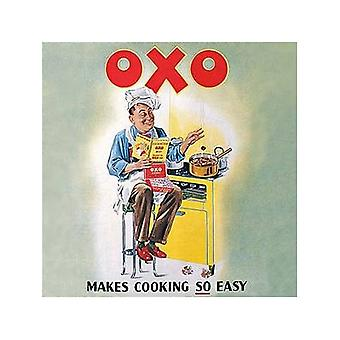 Oxo Makes Cooking Easy Drinks Mat / Coaster