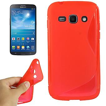 Handyhülle TPU für Samsung Galaxy Ace 3 S7272 rot