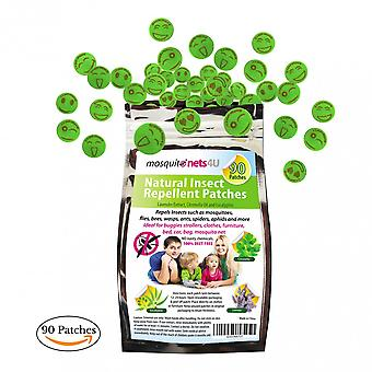 Natural Mosquito Repellent Patches - Family Value Pack 90 Patches