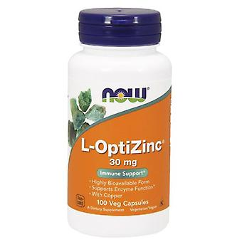 Now Foods LOptiZinc 30 mg 100 capsules (Vitamins & supplements , Multinutrients)