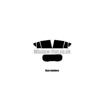 Pre cut window tint - Ford B-Max 5-Door MPV - 2012 and newer - Rear windows