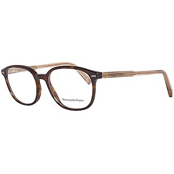 Zegna glasses mens Brown