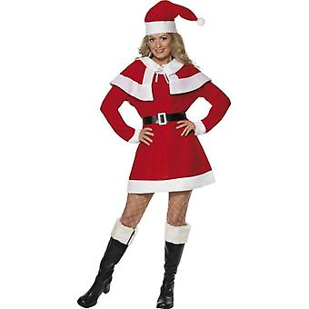 Smiffy van Miss Santa Fleece kostuum