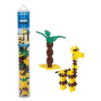 Plus Plus buis Giraffe 100 stuk Bouw gebouw Set