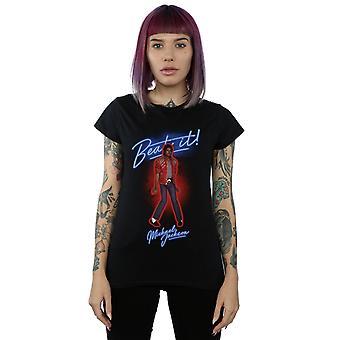 Féminin de Michael Jackson Beat It T-Shirt fumée