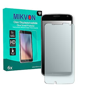 Motorola XT1053 Screen Protector - Mikvon Clear (Retail Package with accessories) (reduced foil)