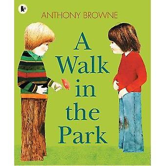 En promenad i parken av Anthony Browne - 9781406341645 bok