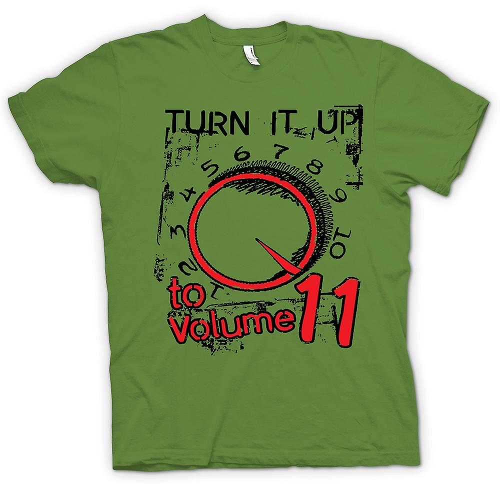 Mens T-shirt - Spinal Tap Volume 11 - Funny