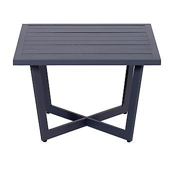 Table d'appoint jardin Impressions Ivy 62, 5 x 62, 5xH42 cm-noir