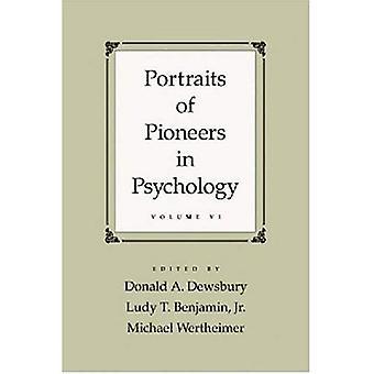 Porträtt av pionjärer inom psykologi