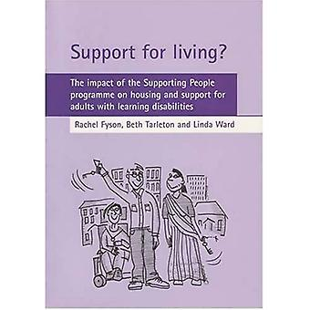 Support for Living?: The Impact of the Supporting People Programme on Housing and Support for People With Learning Disabilities