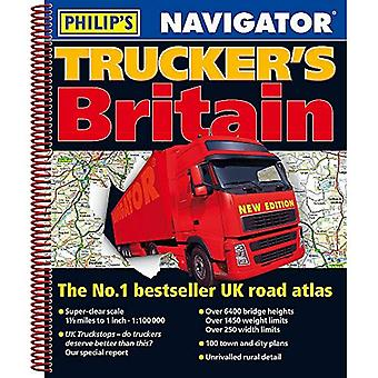 Philip's 2019 Navigator Truckers Storbritannien (Philips Road Atlas)