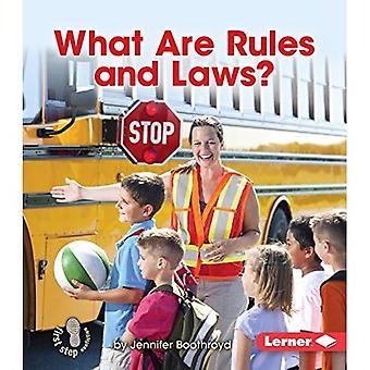 Quelles sont les règles et les lois? (Première étape Nonfiction - découverte de gouvernement)