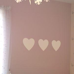 HEARTS WALL ART STICKER