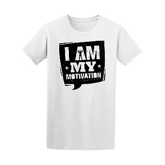 I Am My Motivation Fitness Gym Tee Men's -Image by Shutterstock