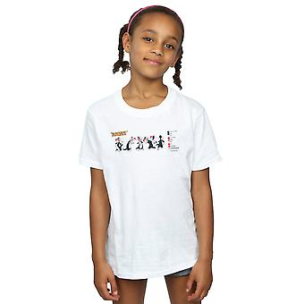 Looney Tunes Girls Sylvester Colour Code T-Shirt