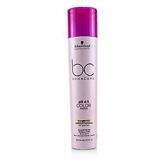 Schwarzkopf BC Bonacure pH 4,5 farve fryse guld Shimmer Micellar shampoo (for guld hår)-250ml/8.5 oz