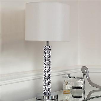Endon CORTESE CORTESE Table Lamp Single Fabric Shade