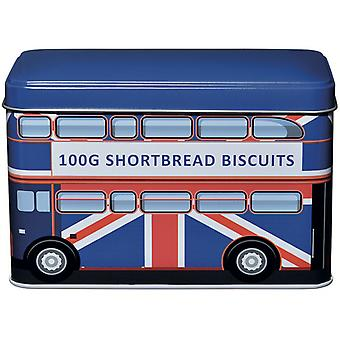 Union jack bus traditional english shortbread biscuits (ujbus)