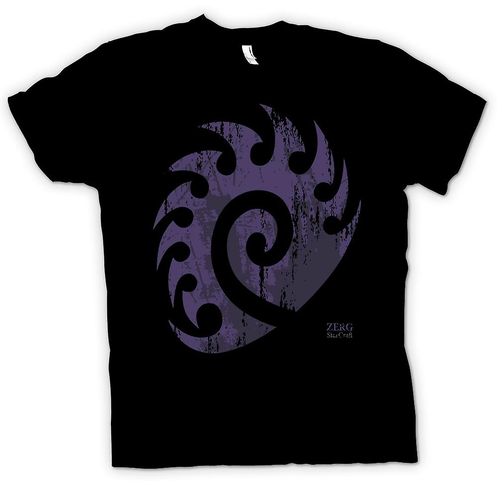 Mens t-skjorte - Star Craft inspirert - Zerg