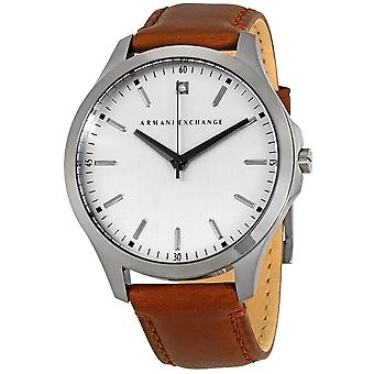 Armani Exchange Leather Mens Watch AX2195
