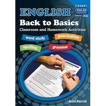 English Homework: Bk. G: Back to Basics Activities for Class and Home