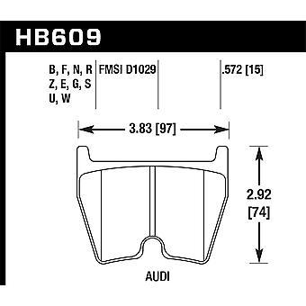 Hawk prestaties HB609F. 572 HPS