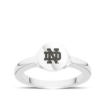 University Of Notre Dame - Notre Dame Logo Engraved Signet Ring